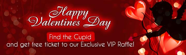 vegascasino Valentines Day promotion