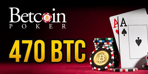 betcoin poker 470 btc prize