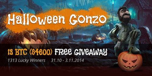 bitcasino.io halloween gonzo promotion