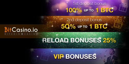 bitcasino.io welcome deposit bonus