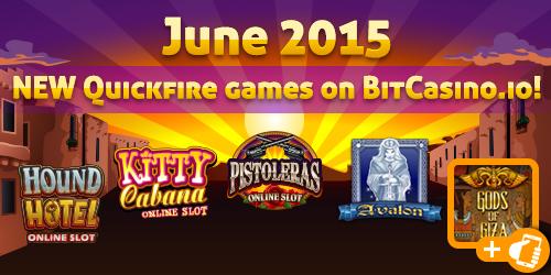 bitcasino.io new quickfire games