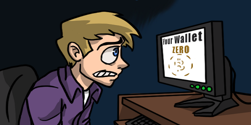bitcoin theft