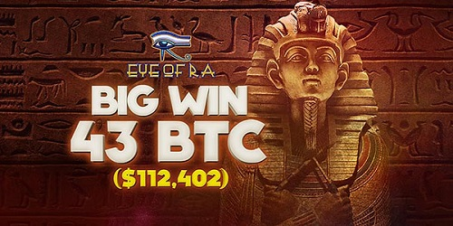 bitstarz casino eye of ra slot slot big winner 43 btc