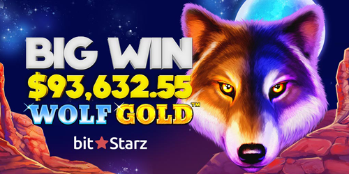 bitstarz casino wolf gold slot big winner