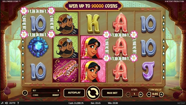 bollywood story slot review