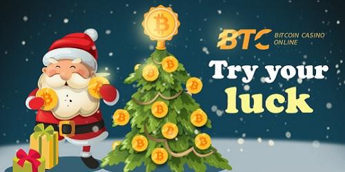btc casino christmas lottery