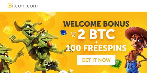 casino bitcoin.com welcome bonus