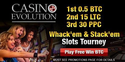 casino evolution slots tourney