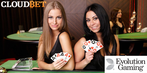 cloudbet live casino evolution gaming