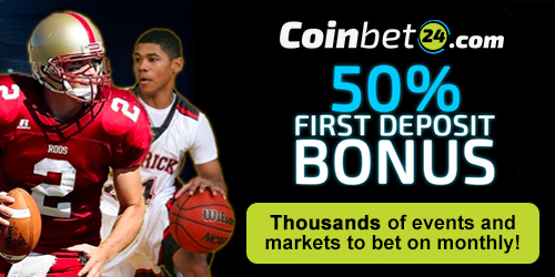 coinbet24 sports welcome