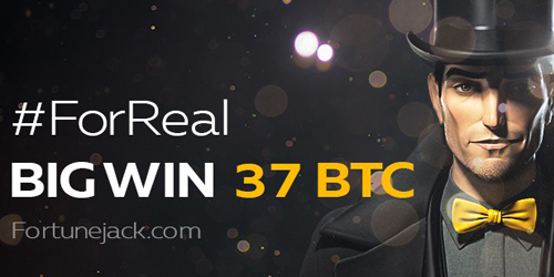 fortunejack casino blackjack bitcoin big winner