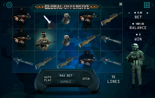 global offensive slot review