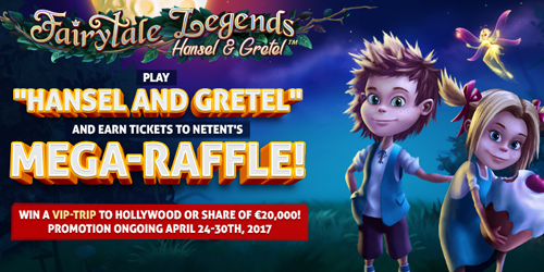 hansel and gretel slot mega raffle promotion