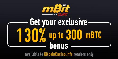 mbit casino exclusive bonus