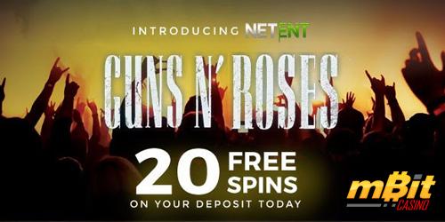 mbit casino guns n roses freespins