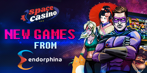 Space Casino adds Endorphina slots