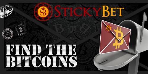 stickybet casino free bitcoins promotion