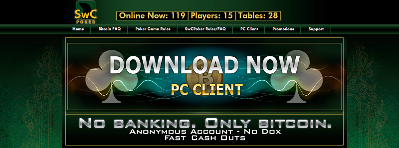 SwC Poker website review