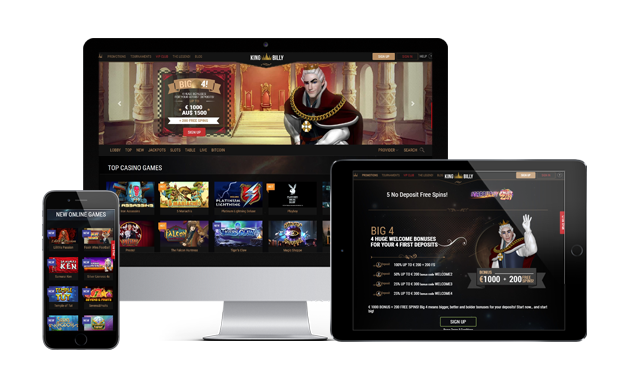 kingbilly casino website