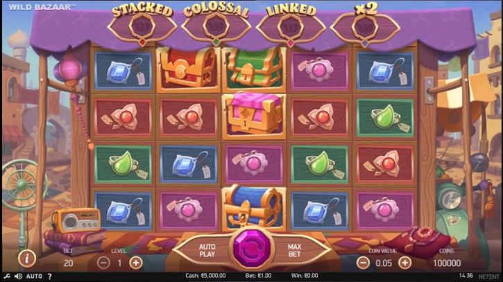 wild bazaar slot review