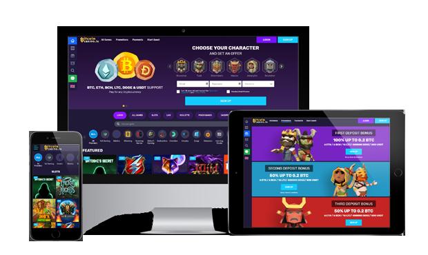 bitcoincasino.io website devices