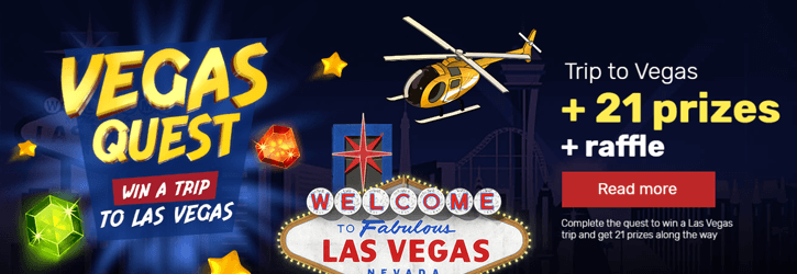winz casino vegas quest promo