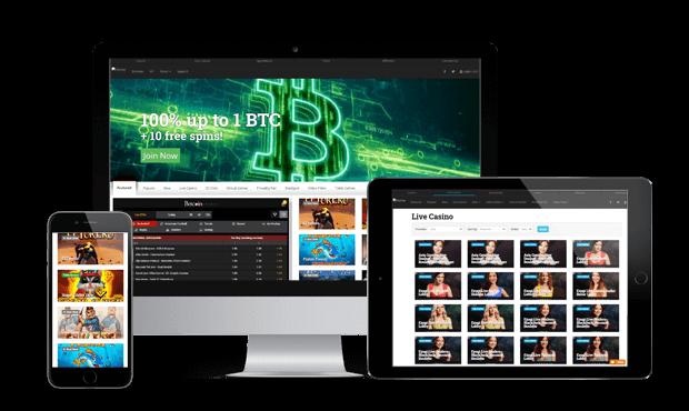 betcoin.ag websites screen