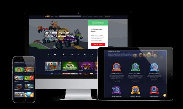 mbit casino website screens