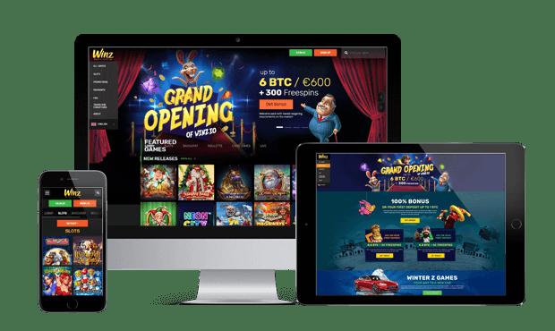 winz casino website review