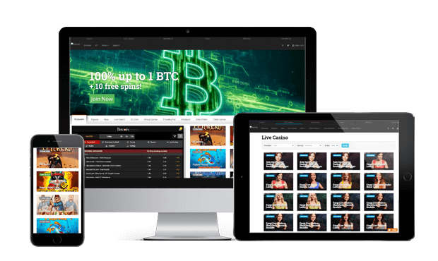 betcoin.ag websites screen
