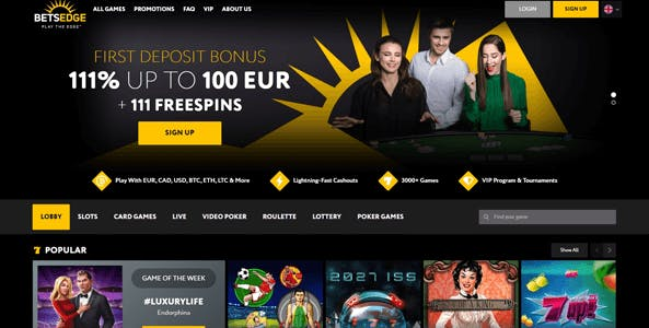 betsedge casino website