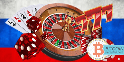 биткоин казино в России