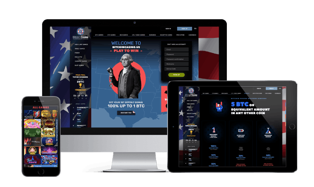 bitcoincasino.us website screens