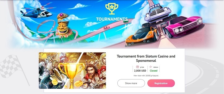 slotum casino tournament