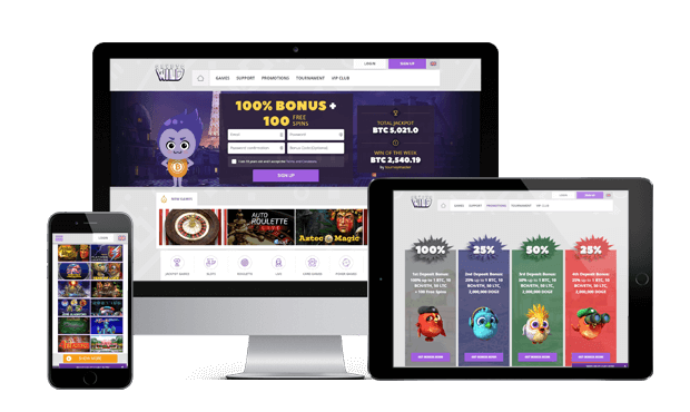 cryptowild casino website mobile