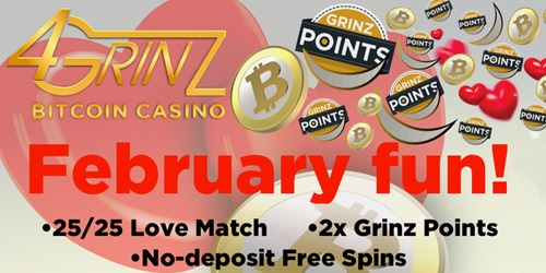 4grinz casino february promotions