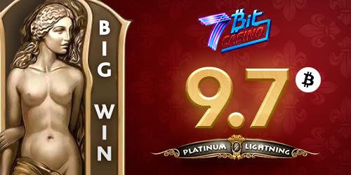7bitcasino big winner platinum lightning slot