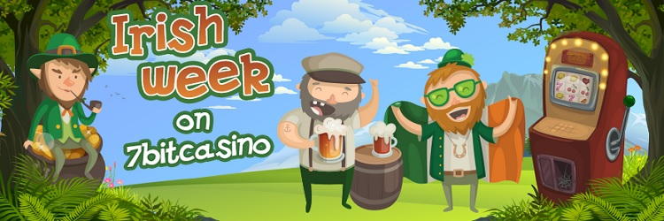 7bitcasino irish week promo
