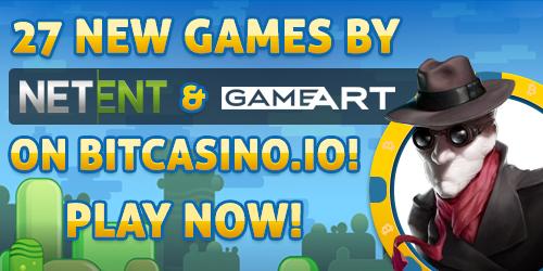 bitcoin netent gameart slots