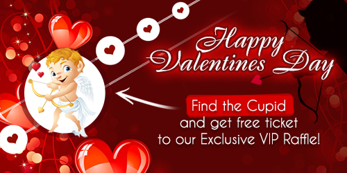 vegascasino.io valentines day promotion
