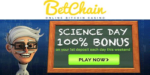 betchain casino science day bonus