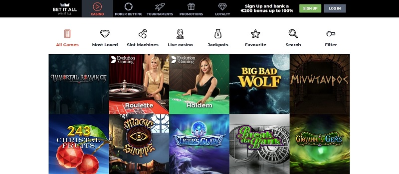 сайт betitall casino