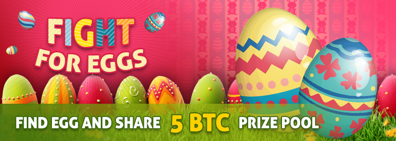 bitcasino.io easter egg