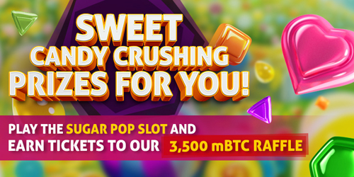 bitcasino.io sweet candy promo