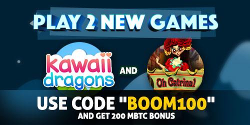 bitcasino.io june new games boom100