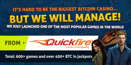 bitcasino.io launched instadeal microgaming games
