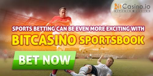 bitcasino.io sportsbook launch