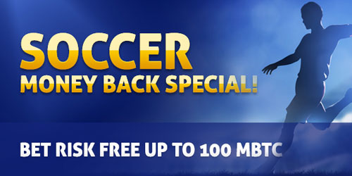bitcasino sportsbook money back