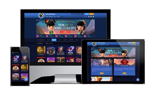 обзор BitcoinPenguin Casino