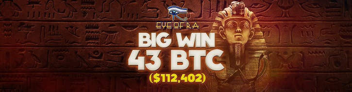 bitstarz casino big winner eye of ra slot